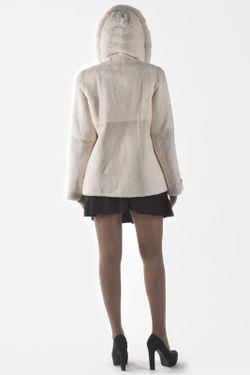Куртка Меховая фабрика Bagiroff                                                                                                              белый цвет