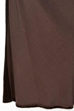 Жакет Пояс Воротник Ягненок Ralph Lauren                                                                                                              коричневый цвет