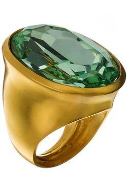 Кольцо Перидот Kenneth Jay Lane                                                                                                              многоцветный цвет