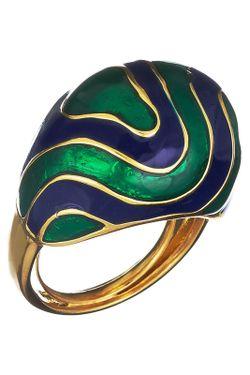 Кольцо Kenneth Jay Lane                                                                                                              многоцветный цвет