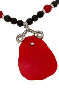 Ожерелье Арт-Деко Kenneth Jay Lane                                                                                                              многоцветный цвет