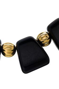 Ожерелье Греческое Блек Kenneth Jay Lane                                                                                                              многоцветный цвет