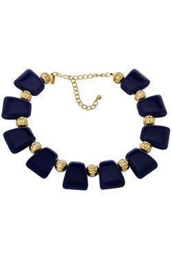 Ожерелье Греческое Индиго Kenneth Jay Lane                                                                                                              многоцветный цвет