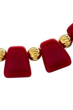 Ожерелье Греческое Ред Kenneth Jay Lane                                                                                                              многоцветный цвет