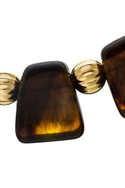 Ожерелье Греческое Янтарное Kenneth Jay Lane                                                                                                              многоцветный цвет