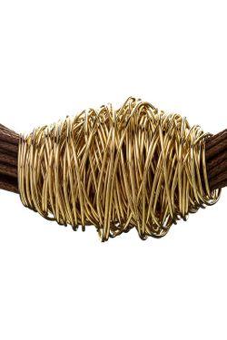 Ожерелье Золотой Моток Kenneth Jay Lane                                                                                                              многоцветный цвет