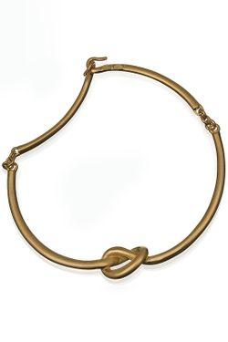 Ожерелье Золотой Узел Kenneth Jay Lane                                                                                                              многоцветный цвет