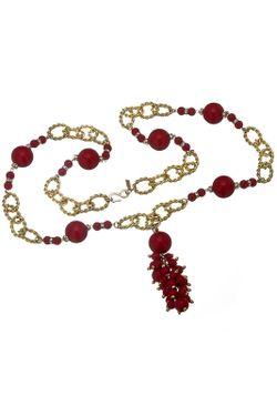 Ожерелье Коралл Kenneth Jay Lane                                                                                                              многоцветный цвет