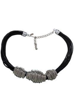 Ожерелье Серебрянные Мотки Kenneth Jay Lane                                                                                                              многоцветный цвет