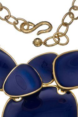 Ожерелье Синий Глянец Kenneth Jay Lane                                                                                                              многоцветный цвет