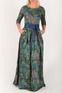 Платье PF                                                                                                              голубой цвет