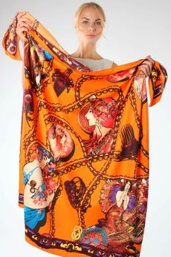 Платок Laura Milano                                                                                                              оранжевый цвет