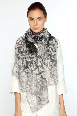 Палантин Laura Milano                                                                                                              серый цвет