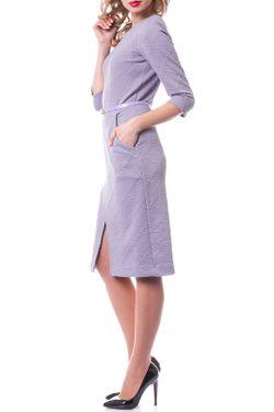 Платье OKS                                                                                                              фиолетовый цвет