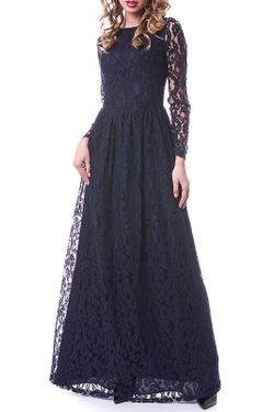 Платье OKS                                                                                                              синий цвет