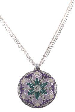 Колье Clara Bijoux                                                                                                              зелёный цвет