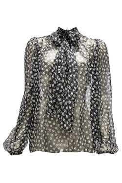 Блузка Dolce & Gabbana                                                                                                              чёрный цвет
