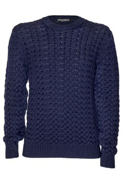 Джемпер Dolce & Gabbana                                                                                                              синий цвет