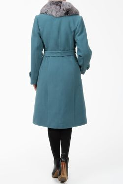 Пальто Фортуна                                                                                                              зелёный цвет