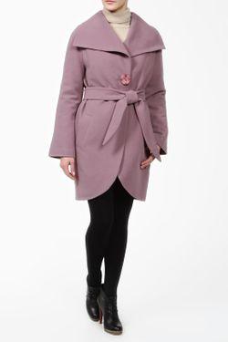 Пальто Фортуна                                                                                                              фиолетовый цвет