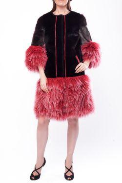 Пальто DSA                                                                                                              розовый цвет