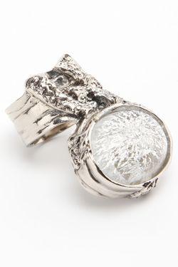 Кольцо Saint Laurent                                                                                                              серый цвет