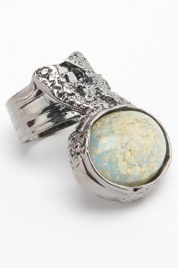 Кольцо Saint Laurent                                                                                                              голубой цвет