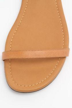Сандалии Saint Laurent                                                                                                              коричневый цвет