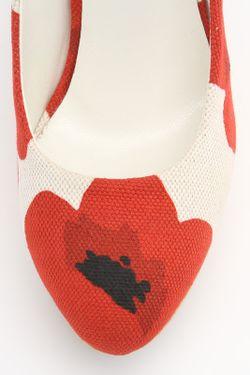 Туфли Saint Laurent                                                                                                              красный цвет