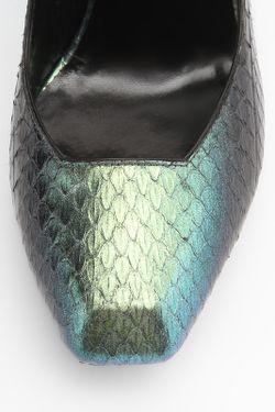 Туфли Saint Laurent                                                                                                              зелёный цвет