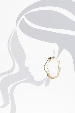 Серьги Saint Laurent                                                                                                              золотой цвет