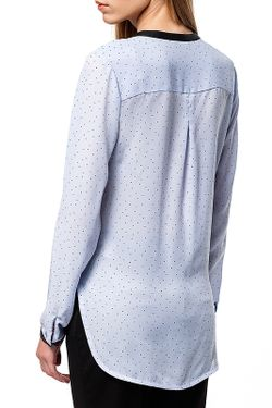 Блузка Vilatte                                                                                                              голубой цвет
