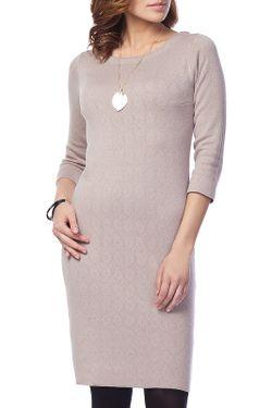 Платье Vilatte                                                                                                              бежевый цвет