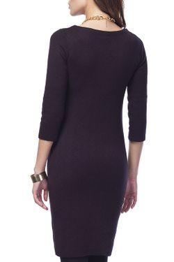 Платье Vilatte                                                                                                              черный цвет