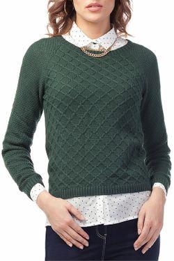 Джемпер Vilatte                                                                                                              зелёный цвет