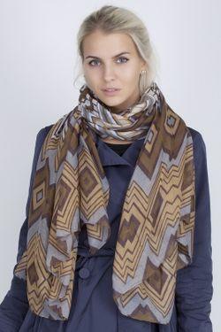 Палантин Sophie Ramage                                                                                                              коричневый цвет