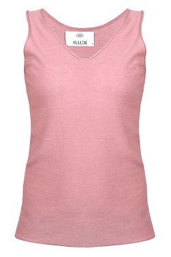 Майка Allude                                                                                                              розовый цвет