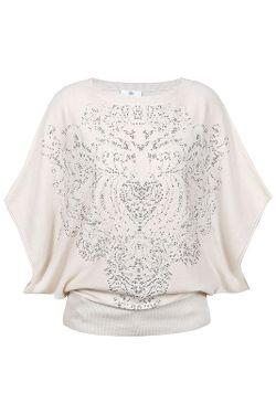 Пуловер Allude                                                                                                              белый цвет