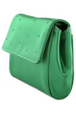 Клатч Stuart Weitzman                                                                                                              зелёный цвет