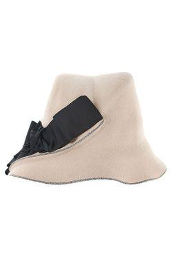 Шляпа Marzi                                                                                                              белый цвет