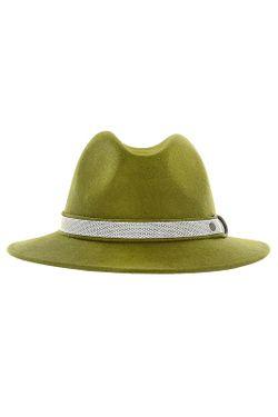 Шляпа Marzi                                                                                                              зелёный цвет