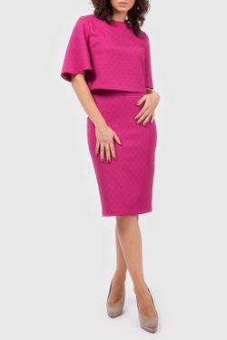 Костюм Блуза Юбка Vladi Collection                                                                                                              розовый цвет