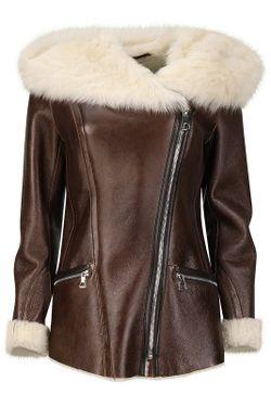 Куртка La Reine Blanche                                                                                                              оранжевый цвет