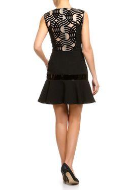 Платье David Koma                                                                                                              чёрный цвет