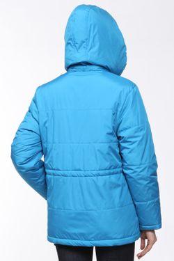 Куртка На Синтепоне Прямая Yetonado                                                                                                              голубой цвет