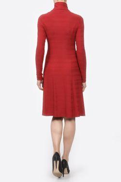 Платье Водолазка Yetonado                                                                                                              красный цвет