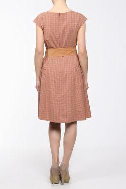 Платье С Боковой Сборкой Yetonado                                                                                                              оранжевый цвет