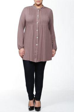Блуза BERKLINE                                                                                                              коричневый цвет