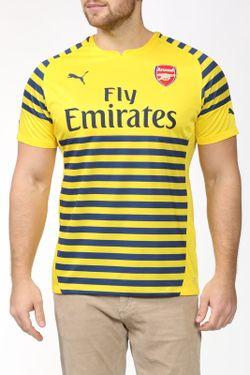 Футболка Puma                                                                                                              желтый цвет