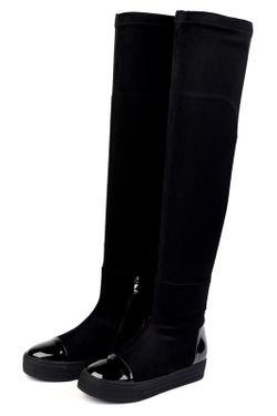 Ботфорты Vita Ricca                                                                                                              чёрный цвет